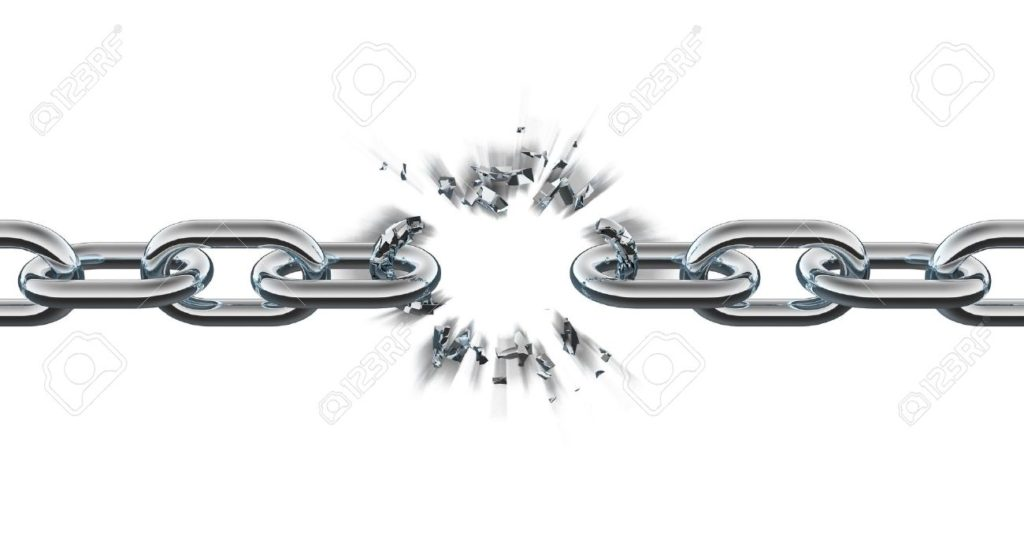 7321187-Chain-breaking-Stock-Photo-broken